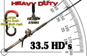 "heavy duty rod holder 33.5-hd ""Red Devil"" Heavy Duty Rod Holder 33.5-HD 33"