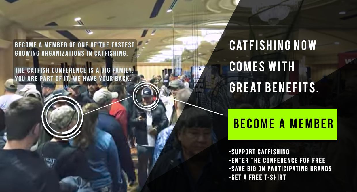 Catfish Conference Membership Highlight Sept. 2017 catfish conference 2018 catfishing conference fishing conference kentucky catfishing expo fishing expo Catfish Conference 2018 – HomePage CATC Slider 4
