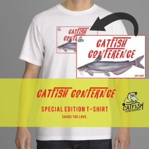 Catfish Conference Special Edition T-Shirt Catfish Conference 2017 Special Edition T-Shirt – White CATC T Shirt Website Graphics Base WHITE 300x300