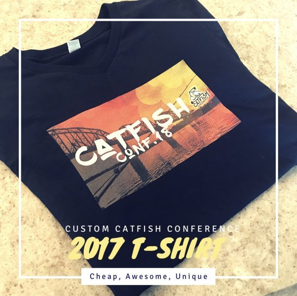 Catfish Conference Custom 2017 T-Shirt View 2