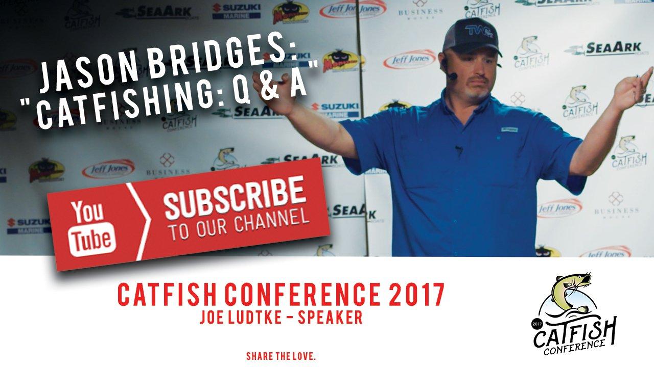 share your catfish Catfishing Videos Jason Bridges Speaker Thumbnail