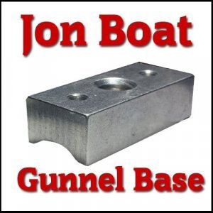 base for rod holders  Jon Boat Gunwale Base jon boat base 300x300
