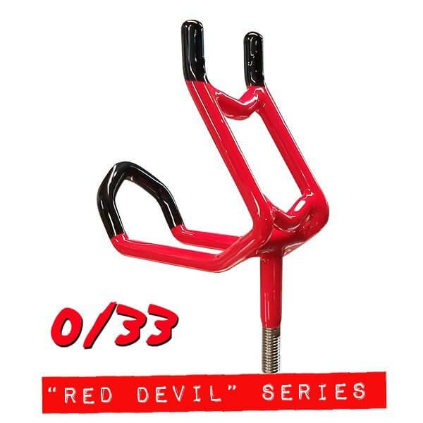 """Red Devil"" Double Action 0/33 Rod Holder"